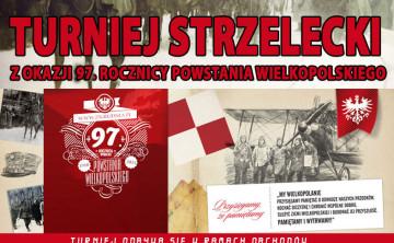 III Turniej Strzelecki z okazji 97. rocznicy wybuchu Powstania Wielkopolskiego!